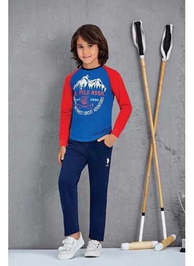 U.S. Polo Assn. Erkek Çocuk Eşofman Takımı Saks